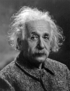 Albert Einstein, a German-American scientist, known for his contributions to physics. Photo O.J. Turner